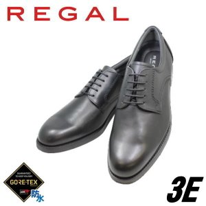 ビジネスシューズ リーガル REGAL ゴアテックス 31NR BC4 黒 3E 本革プレーントゥーユーチップ 冬底 防水 紳士靴|rhythm-shoes