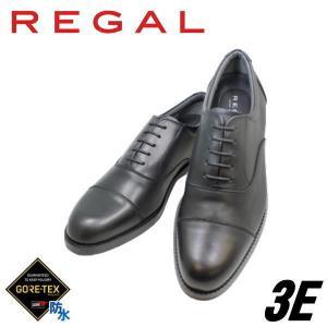 ビジネスシューズ リーガル REGAL ゴアテックス 32NR BB 黒 3E ストレートチップ 防水 紳士靴|rhythm-shoes