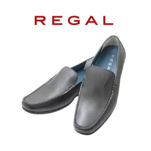 ビジネスシューズ リーガル REGAL 56HR AF黒 本革 スリッポンシューズ 紳士靴|rhythm-shoes