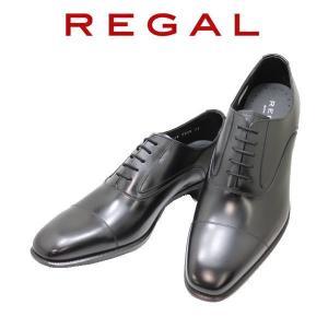 ビジネスシューズ リーガル NEW REGAL ストレートチップ 725R黒 本革紳士靴 rhythm-shoes