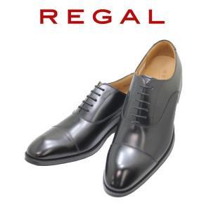 ビジネスシューズ リーガル NEW REGAL ストレートチップ 811R  AL 黒 本革紳士靴|rhythm-shoes