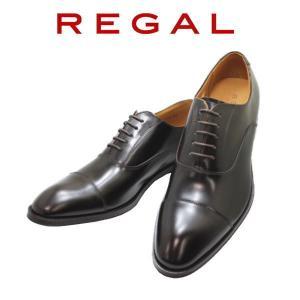 ビジネスシューズ リーガル  NEW REGAL ストレートチップ  811R AL ダークブラウン 本革紳士靴|rhythm-shoes