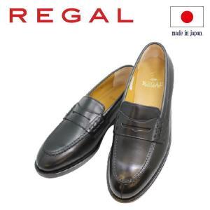 ビジネスシューズ REGAL ローファー JE02AH黒 3E 本革紳士靴 シューズ|rhythm-shoes