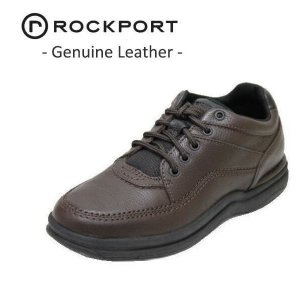 ウォーキングシューズ メンズ ロックポート ワールドツアークラッシック ブラウン靴|rhythm-shoes