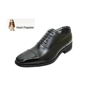 ビジネスシューズ メンズ ハッシュパピーM276黒3E 紳士靴|rhythm-shoes