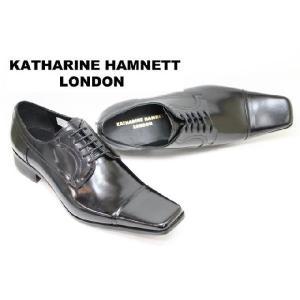 ビジネスシューズ メンズ キャサリンハムネット3947黒 紳士靴|rhythm-shoes