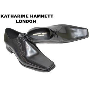 ビジネスシューズ メンズ キャサリンハムネット3948黒 紳士靴|rhythm-shoes