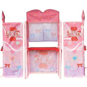 ままごとキッズテント リボンアイドルステージ カウンターテーブルセット アイドルごっこ遊び|ribbon-m|04