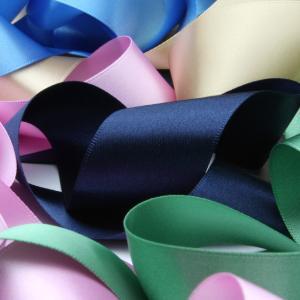 リボン屋さんが作った ウェディングドレスに最適 ウェディング サッシュベルト サテン 50mm巾 3メートル 結婚式 ブライダル