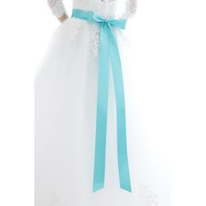 リボン屋さんが作った ウェディングドレスに最適...の詳細画像3
