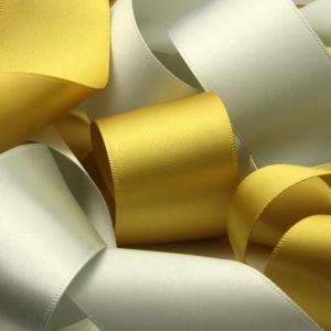 リボン屋さんが作った ウェディングドレスに最適 ウェディング サッシュベルト サテン 50mm巾 3...
