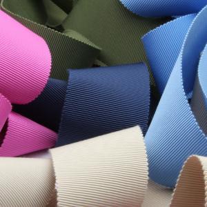リボン屋さんが作った ウェディングドレスに最適 ウェディング サッシュベルト グログラン 50mm巾...