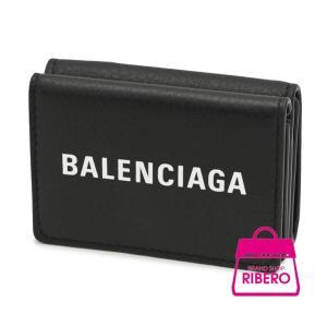 こちらは、バレンシアガ エブリデイ ミニウォレット 三つ折り財布 カーフ ブラック 551921 箱...