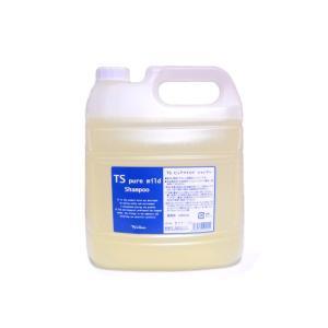 TSシャンプー ピュアマイルド 詰替用4L 低刺激シャンプー|ribishop