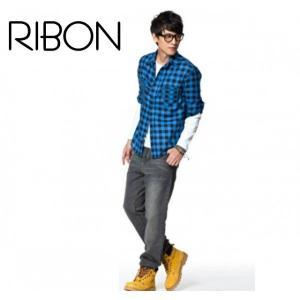 きれいなカラーのチェックおしゃれシャツ|ribon
