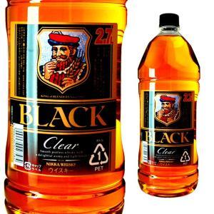大容量 ブラックニッカ ニッカ クリアブレンド 2700ml 2.7L ウイスキー ウィスキー ブラ...