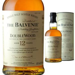 円筒 ザ バルヴェニー ダブルウッド 12年 40度 700ml ウイスキー モルト スコッチ|ricaoh
