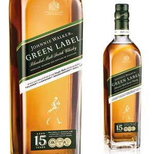 箱入 JW グリーンラベル 15年 43度 700ml ジョニーウォーカー ウイスキー バーボン|ricaoh