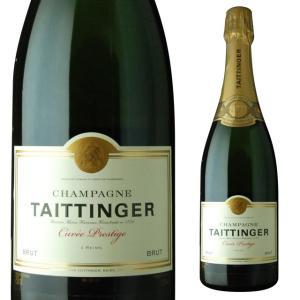 テタンジェ ブリュット キュヴェ プレステージ 750ml シャンパン