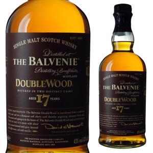 円筒 ザ バルヴェニー 17年 ダブルウッド 43度 700ml ウイスキー モルト スコッチ ricaoh