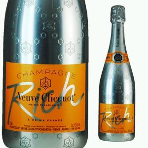 ヴーヴクリコ リッチ 750ml シャンパン|ricaoh