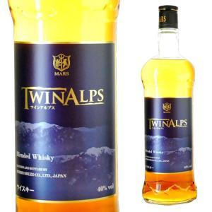 マルスウイスキー ツインアルプス 40度 750ml 国産ウイスキー|ricaoh