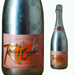 ヴーヴクリコ リッチ ロゼ 750ml シャンパン|ricaoh