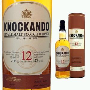 筒入 ノッカンドゥ 12年 43度 700ml ウイスキー モルト スコッチ|ricaoh