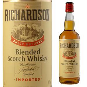 リチャードソン スコッチウイスキー 40度 700ml ウイスキー ブレンディッド|ricaoh