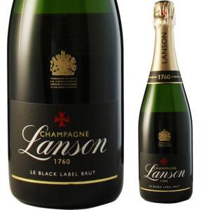 ランソン ブラックラベル ブリュット 750ml シャンパン|ricaoh