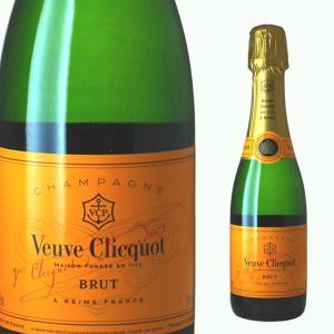 ミニ ヴーヴ クリコ ポンサルダン ブリュット イエローラベル ハーフ 375ml シャンパン|ricaoh