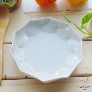白い食器のねじり白銘々皿 プレート 取り皿|ricebowl