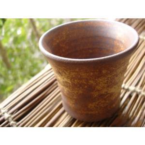 和食器 やまぶき アイスティー フリーカップ 焼酎 ロック 湯のみ アイスコーヒー カフェ おうち うつわ そば猪口|ricebowl