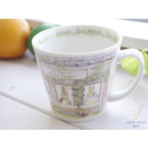 ピーターラビット スープマグカップ ハウス 専用箱入り|ricebowl