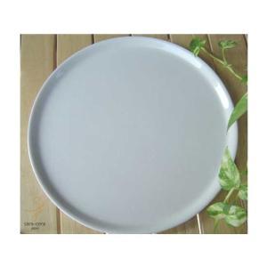 お菓子スイーツ&石窯焼きピザプレート Mサイズ   洋食器 白い食器 パーティー クリスマス|ricebowl