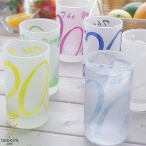 6カラータンブラーグラス アニバーサリー2000|ricebowl