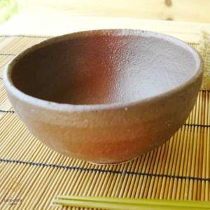 松助窯 朱炭化粧釉 ご飯茶碗|ricebowl