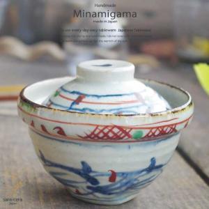 南窯 安南赤絵 蓋付煮物碗 坂の上のあったか家族工房 和食器|ricebowl