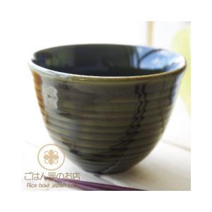 織部グリーン釉 我が家の定番 サイドライン 小どんぶり 飯碗 茶碗 ricebowl