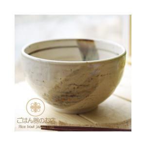 和の彩り茶釉刷毛目 まんまる丼 どんぶり 和食器|ricebowl