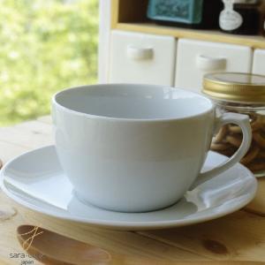 カップソーサー アメリカンホームホワイトビックモーニング 白い食器|ricebowl