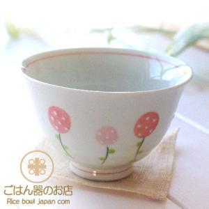 有田焼 波佐見焼 野いちご ご飯茶碗 (小)