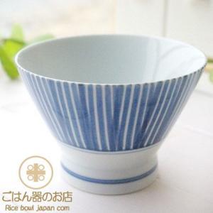 有田焼 波佐見焼 くらわんか碗 千筋 ご飯茶碗 ライスボール 和食器 ricebowl