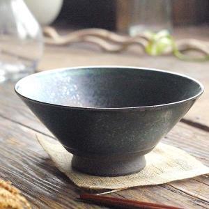 手のりがいい軽量 ご飯茶碗 (黒ブラックラスター) 和食器 和皿 和風 飯碗 茶碗 陶器 手づくり