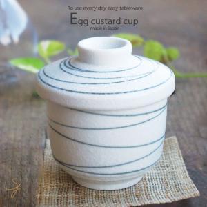 さっぱり冷製茶わんむし淡雪ライン碗 和食器 ricebowl