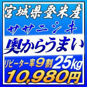 新米 30kg 一味違う極上米 宮城県産 ササニシキ 30k...