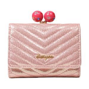 ビバユー 三つ折り財布 ジェムパース レディース 5201662 VIVAYOU | コンパクト ブランド専用BOX付き [PO5]|richard