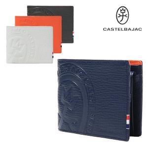 カステルバジャック 二つ折り財布 メンズ ピッコロ 022614 CASTELBAJAC 本革 レザー [PO10]|richard