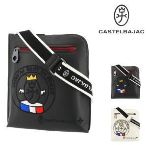 カステルバジャック ショルダーバッグ リンク メンズ 30111 CASTELBAJAC   斜めがけ 軽量 牛革 本革 レザー richard