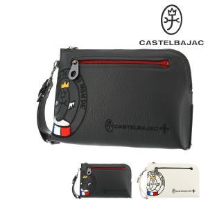カステルバジャック セカンドバッグ リンク メンズ 30211 CASTELBAJAC   持ち手 クラッチバッグ 軽量 牛革 本革 レザー richard
